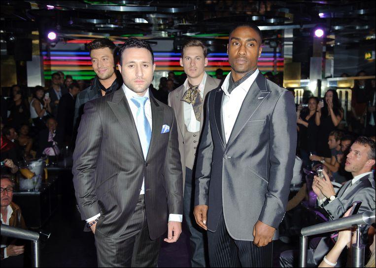 Blue nu: Duncan, Antony, Lee en Simon