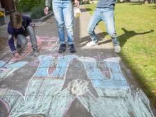 Omstreden regel (bijna) geschrapt: stoepkrijten eindelijk legaal in Breda