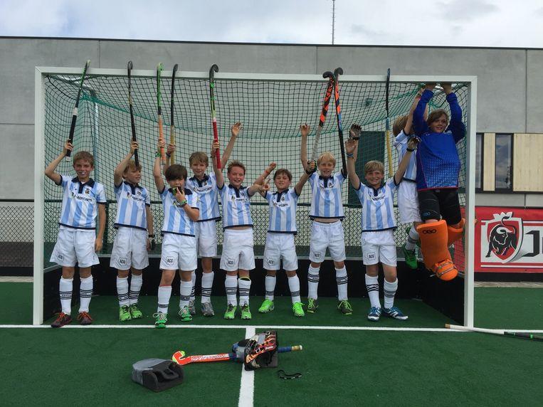 Het succes van het nationale hockeyteam spreekt heel veel jongeren aan.