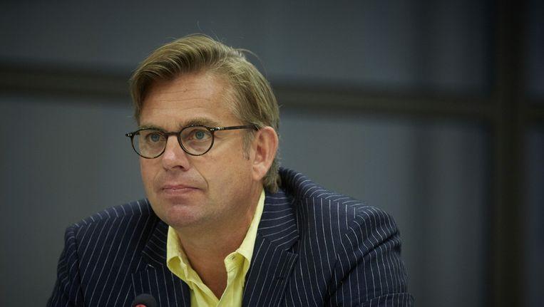 D66-Kamerlid Gerard Schouw vindt het 'pijnlijk en ongepast om onderscheid tussen mensen te maken in ons eigen koninkrijk'. Beeld ANP