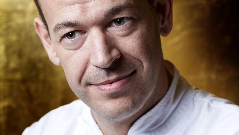 Richard van Oostenbrugge, chef-kok van tweesterrenrestaurant Bord'Eau in hotel De l'Europe Beeld Bord'Eau