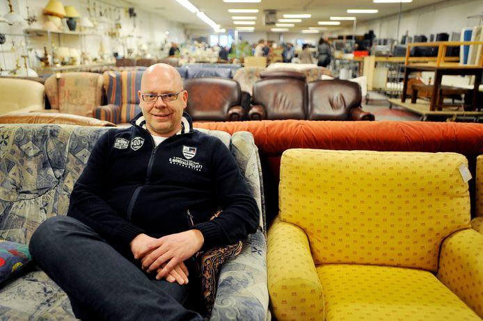 Theo van der Bruggen, manager van La Poubelle in Tilburg.