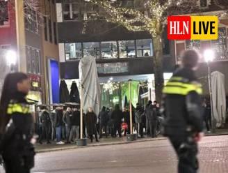 Op meerdere plaatsen in Nederland opnieuw grimmig protest tegen avondklok