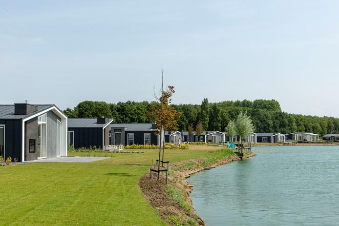 Water Resort Oosterschelde wordt al een serieus 'dorpje'.