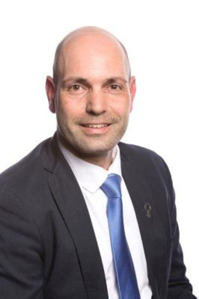 Eric van Luxemburg, sinds deze week raadslid voor de PVV in Lelystad.