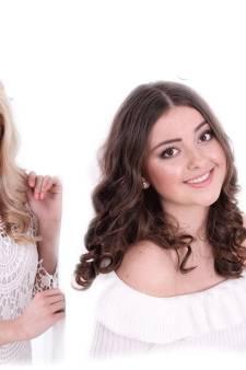 Missen Tyra, Kiki, Michelle en Margot uit NO-Twente stralen op de catwalk