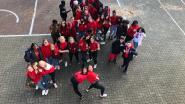 Speelplaats GO! Atheneum Denderleeuw kleurt rood op Rode Neuzen Dag