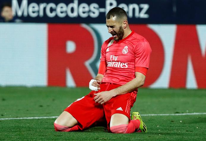 De treffer van Karim Benzema was voor Real Madrid niet voldoende voor de winst.