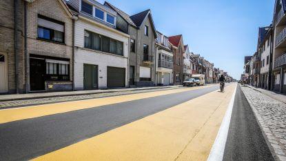 Openbare werken hervat in De Haan met fietssuggestiestroken in Nieuwe Steenweg