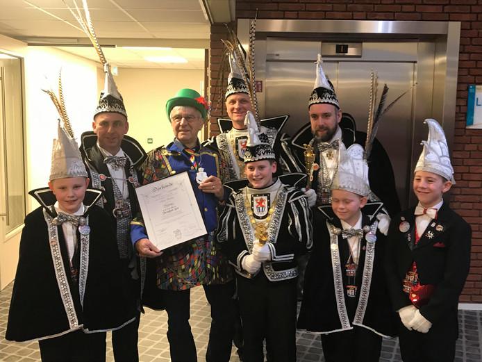 In 's-Heerenberg zijn vrijdag vijf commandeurs benoemd voorafgaand aan het carnaval.