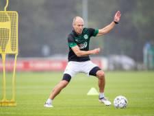 Robben volop in training bij FC Groningen