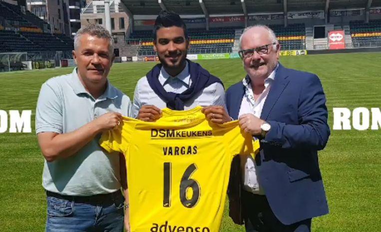 Ronald Vargas zal met het rugnummer 16 spelen