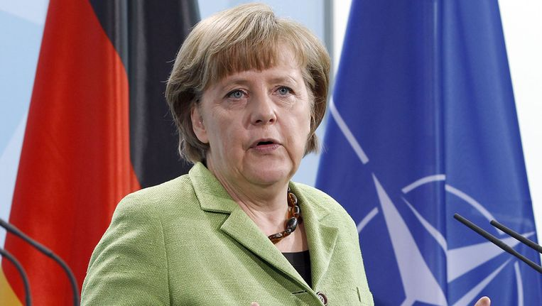 Bondskanselier Angela Merkel. Beeld ap