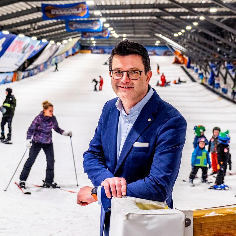 Ceo Wim Hubrechtsen van Snowworld. Beeld null