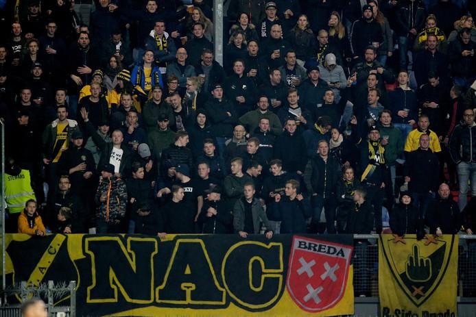 Het publiek van NAC kan doorslaggevend zijn, denkt Sjoerd Moussou.
