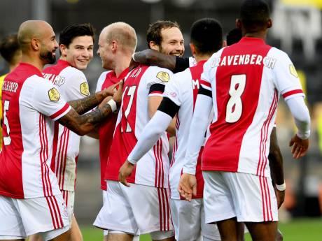 Bizar: exact tien jaar na 10-0 bij PSV - Feyenoord wordt het bij VVV - Ajax 0-13