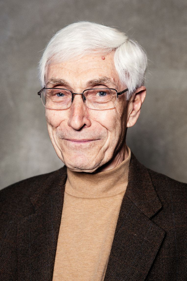 Harry Davids (77), februari 2020.  Beeld Linda Stulic