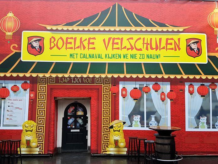 In 2017 veranderde café Boerke Verschuren tijdens carnaval  in Chinees restaurant Boelke Velschulen.