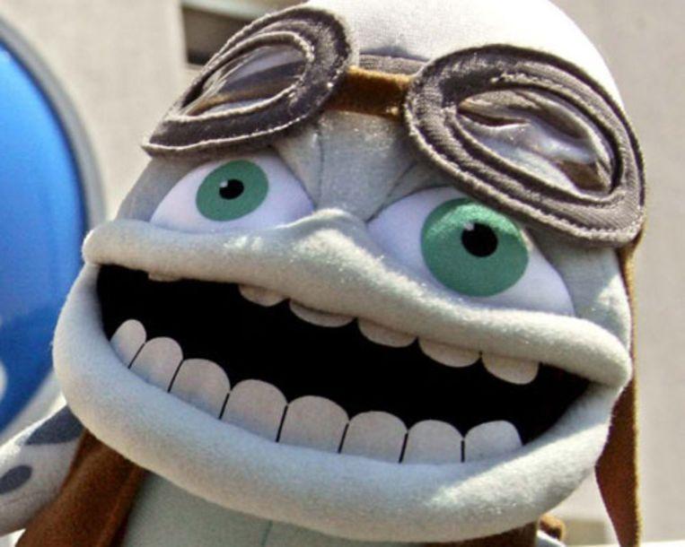 Ringtone-icoon 'Crazy Frog'. (EPA) Beeld