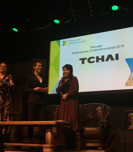 Rotterdamse Ondernemersprijs voor familiebedrijf Tchai uit Ridderkerk: 'Eerste prijs voor een vrouw'