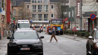 Plaatselijke verkeershinder in Vooruitgangstraat door werken