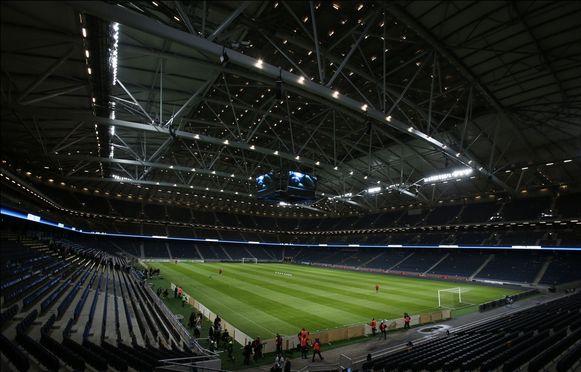 De Rode Duivels bekampen de Zweden in de Friends Arena in Stockholm