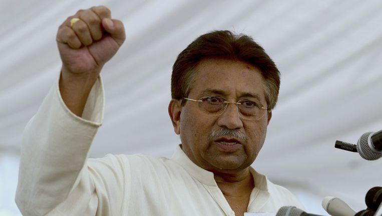 Pervez Musharraf Beeld ap