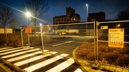 Parking Bassintraat afgesloten ter voorbereiding op nieuw bouwproject