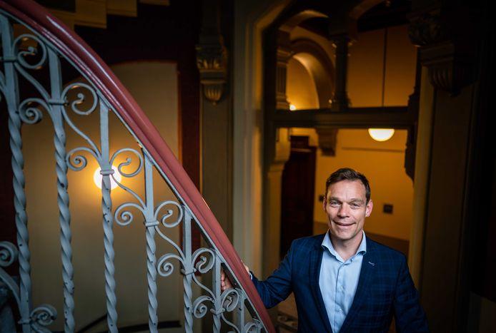 Martijn van Helvert, namens het CDA Tweede Kamerlid.