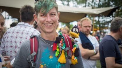 'Beffie', de festival-eend waarmee alle BV's op de foto willen