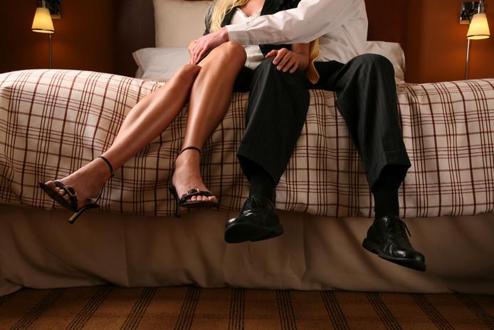 Een geestelijk beperkte vrouw  is door een Valkenswaardse in de prostitutie gezet en uitgebuit. © Getty Images