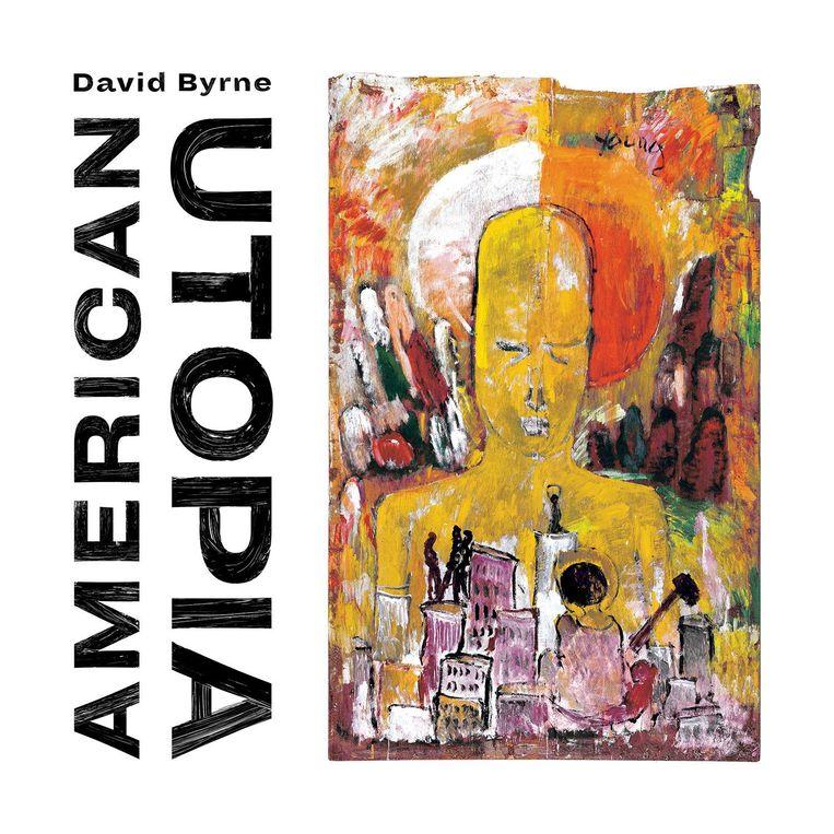 De nieuwe plaat van David Byrne: American Utopia. Beeld null