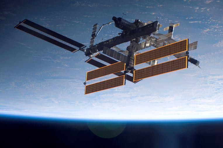 Ruimtestation ISS.