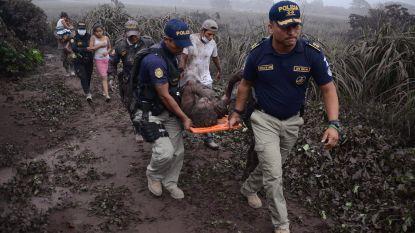 Minstens 70 doden en vijftig gewonden na vulkaanuitbarsting in Guatemala