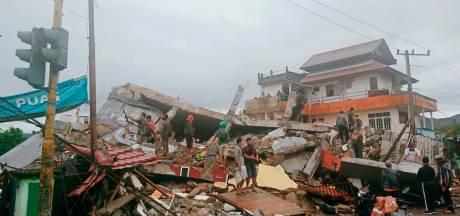 Tientallen doden, honderden gewonden na zware aardbeving Indonesië