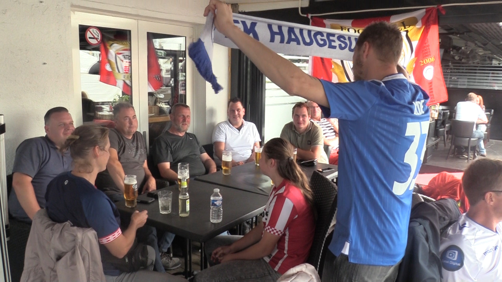 PSV-fans in Noorwegen.