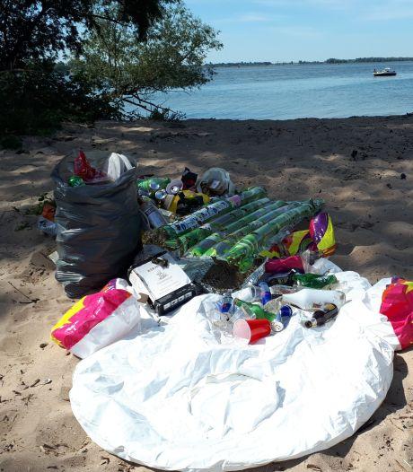 Biesbosch ligt vol met afval: 'Het lijkt wel een vuilnisbelt'