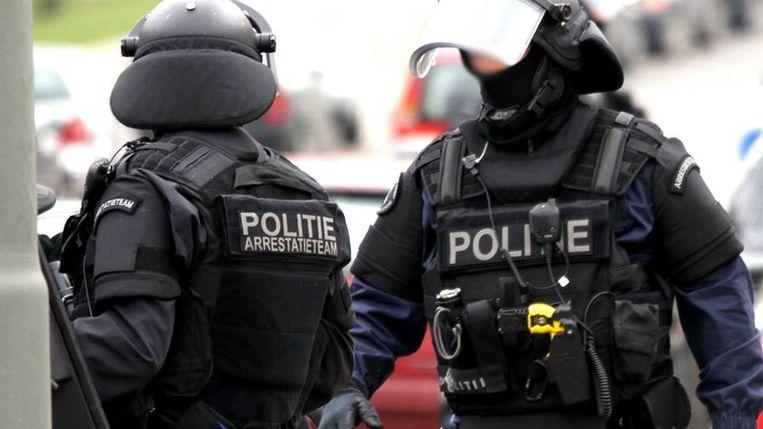 De interventie in Amsterdam werd verricht door een arrestatieteam.