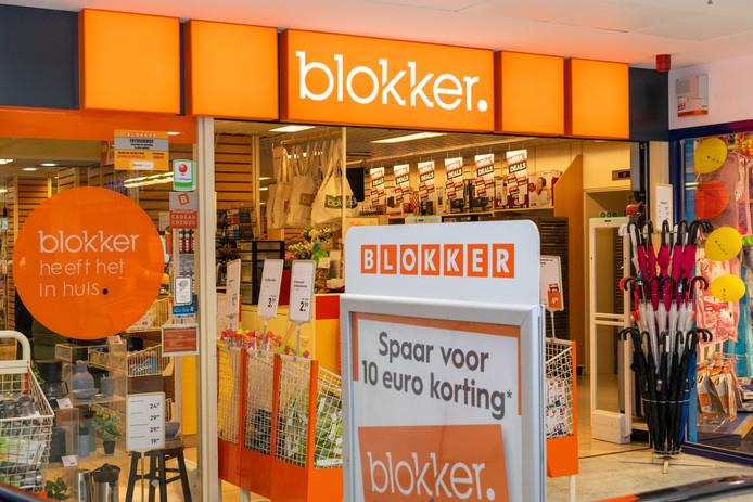 Blokker-vestiging in Antwerpen.
