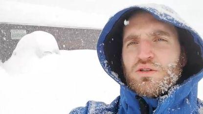"""VIDEO. Vlaming in Oostenrijk getuigt: """"Niet zeker of we deze namiddag kunnen vertrekken door sneeuwval"""""""