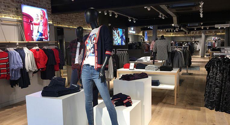 De nieuwe shop van Tom Tailor, in Heist-op-den-Berg