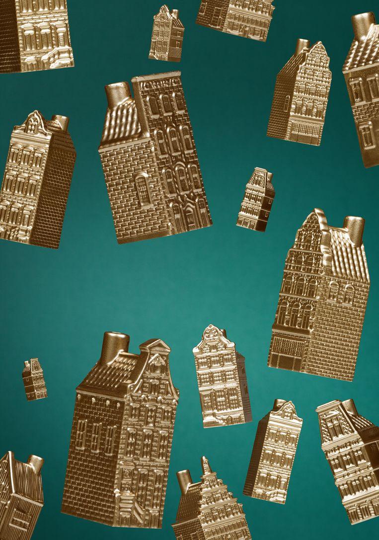 Ondanks de nieuwbouwwoede van de laatste tijd zijn de huizenprijzen blijven stijgen.   Beeld Linda Jansen