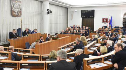 Poolse Senaat maakt gebruik term 'Poolse vernietigingskampen' strafbaar