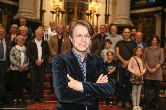 Frank Bervoets wordt de stem van Jan Van Eyck.
