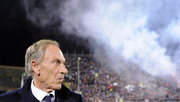 De 67-jarige Zeman bevindt zich met Cagliari met woelig water en betaalt daar nu de prijs voor.