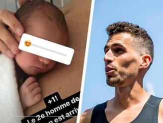 Jonathan Borlée voor de tweede keer papa: na dochter Ambre nu een zoontje