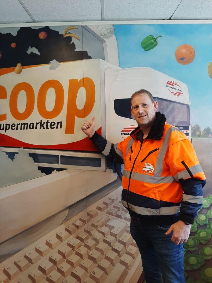Willem Polhoud (51), teamleider supermarktdistributie Coop