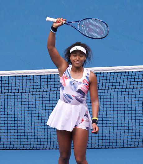 Osaka naar tweede ronde Australian Open