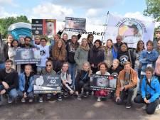 Actie op terrein Nunspeetse pluimveeslachterij gaat gewoon door ondanks ophef in Boxtel
