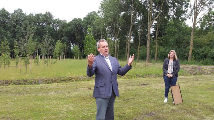 Erik ter Heide, projectleider namens gemeente Boxtel, roemt de inzet van de buurtbewoners.